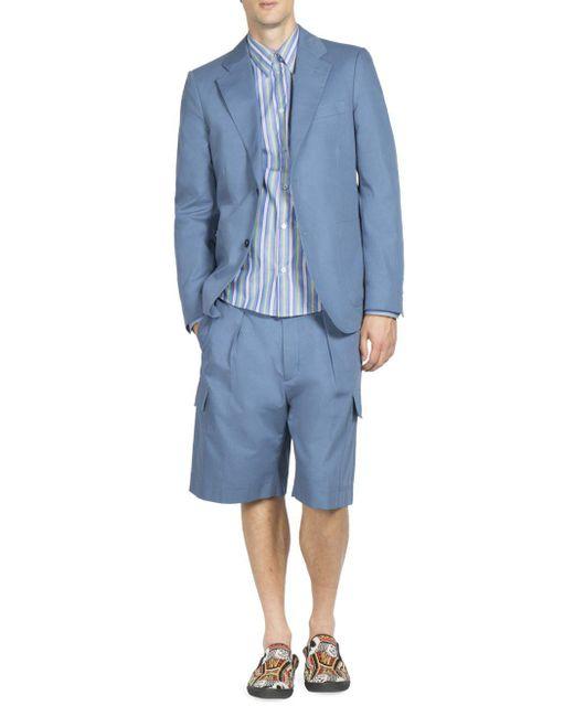 Stella McCartney - Blue Hendry Organic Cotton Jacket for Men - Lyst