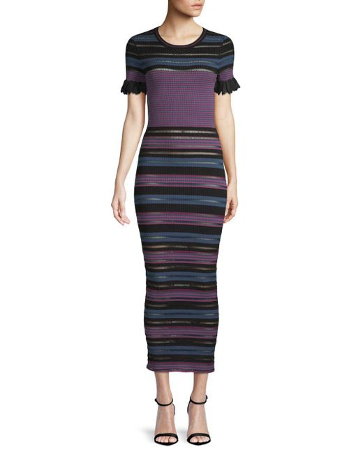 Ronny Kobo - Multicolor Carolissa Striped Maxi Dress - Lyst