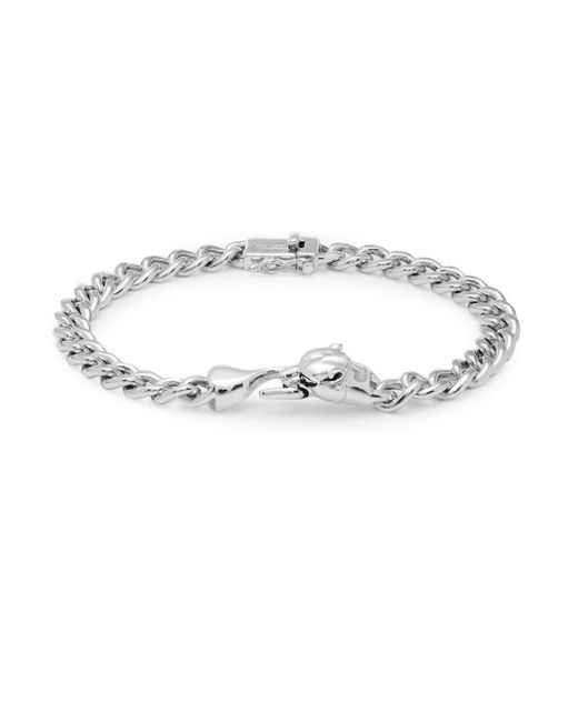 Effy - Metallic Black Spinel And Sterling Silver Chain Bracelet - Lyst
