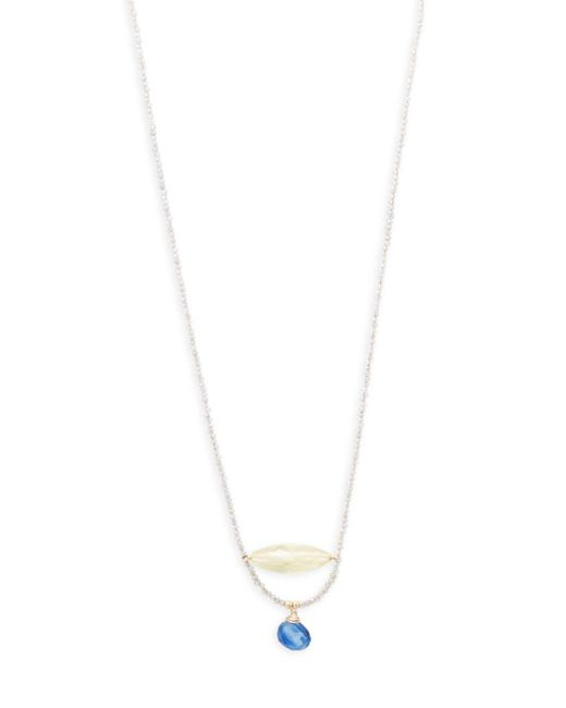 Eva Hanusova - White Gem Collection Necklace - Lyst