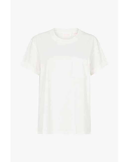 Sass & Bide - White Good Fortune Tee - Lyst