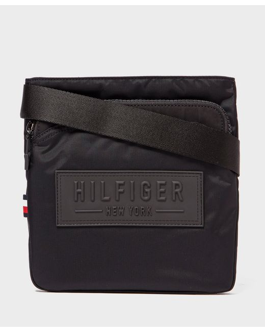 Tommy Hilfiger | Black City Small Pouch Bag for Men | Lyst