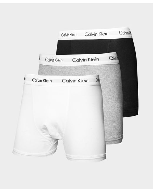 Calvin Klein | Multicolor 3 Pack Boxer Shorts for Men | Lyst