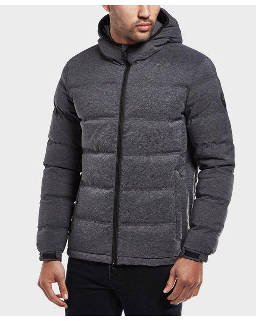 EA7   Gray Mountain Padded Jacket for Men   Lyst