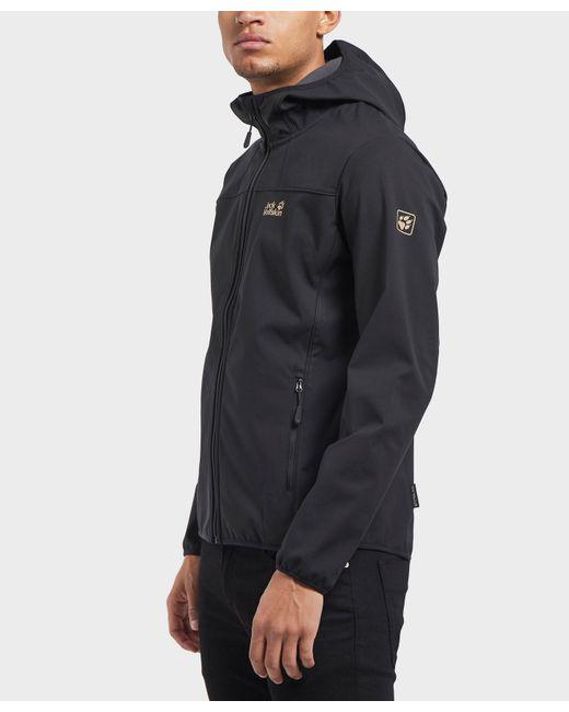 Jack Wolfskin - Black Northern Point Softshell Jacket for Men - Lyst
