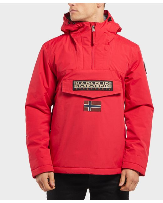 Napapijri - Red Rainforest Padded Jacket for Men - Lyst
