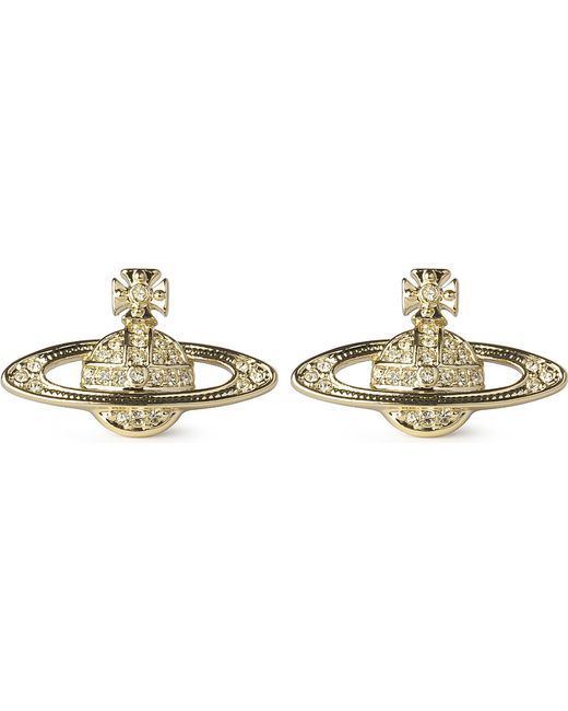 Vivienne Westwood | Metallic Bas Relief Earrings Jonquil | Lyst