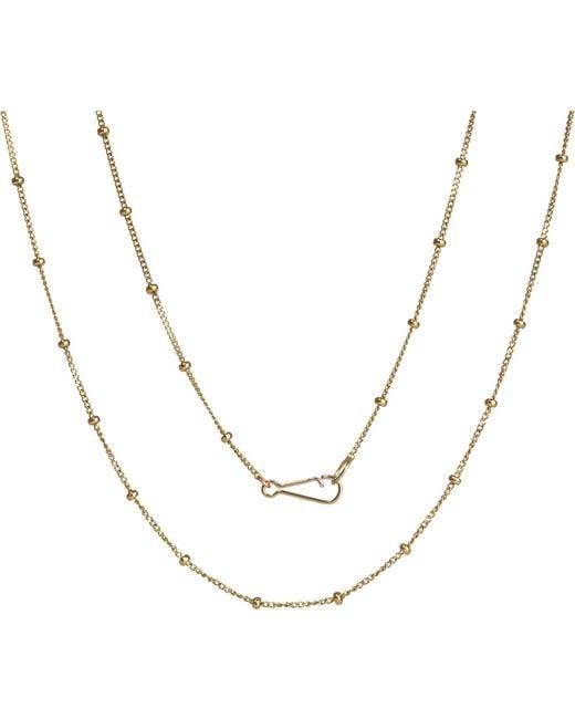 Annoushka | Metallic Classic Saturn 18ct Yellow-gold Short Chain | Lyst