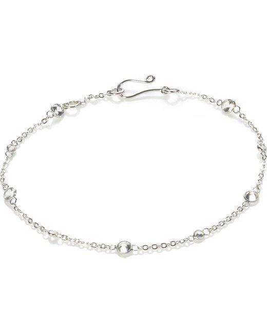 Annoushka | Blue Nectar Jasmine 18ct White-gold And Sapphire Bracelet | Lyst