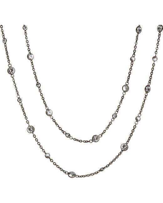 Annoushka | Metallic Nectar Night Jasmine Rhodium-plated 18ct White-gold And Sapphire Necklace | Lyst