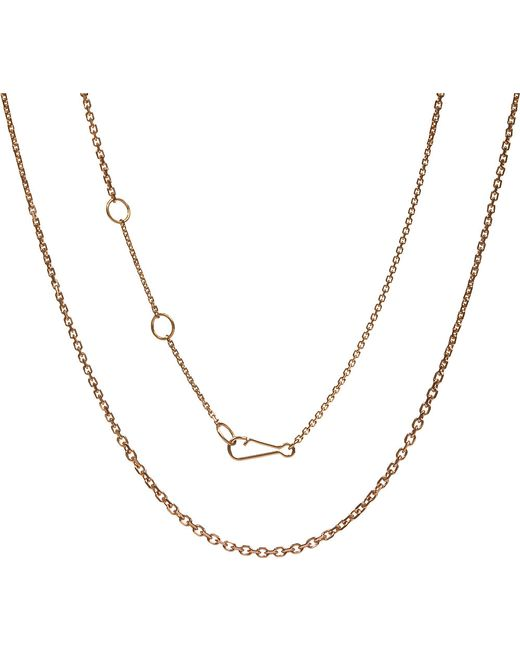 Annoushka | Metallic Classic Gradient 18ct Rose-gold Chain Necklace | Lyst