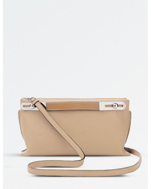 Loewe - Natural Missy Leather Mini Bag - Lyst