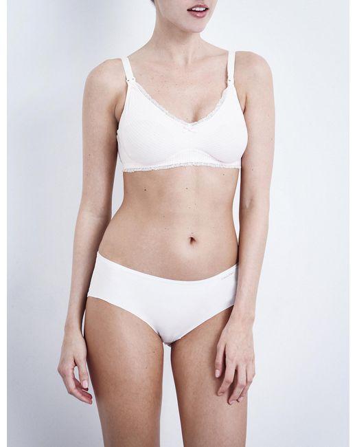 Heidi Klum Intimates | White Eloide Maternity Bra | Lyst