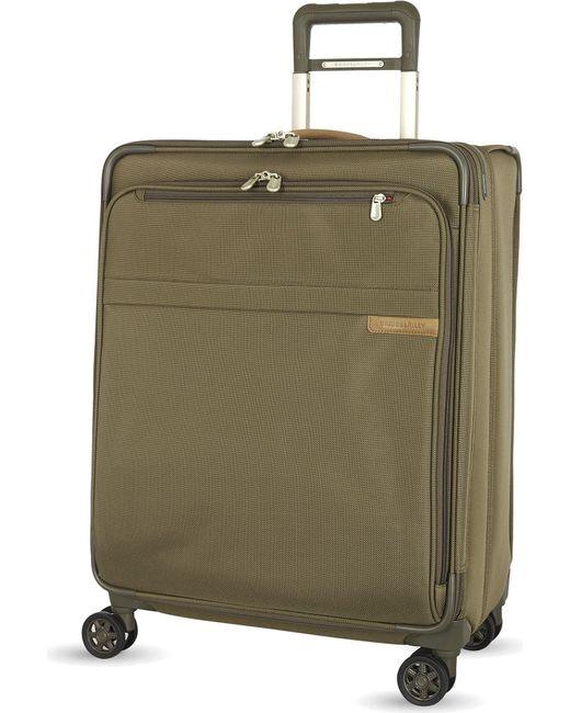 Briggs & Riley   Black Medium Expandable Spinner Suitcase 63.5cm for Men   Lyst