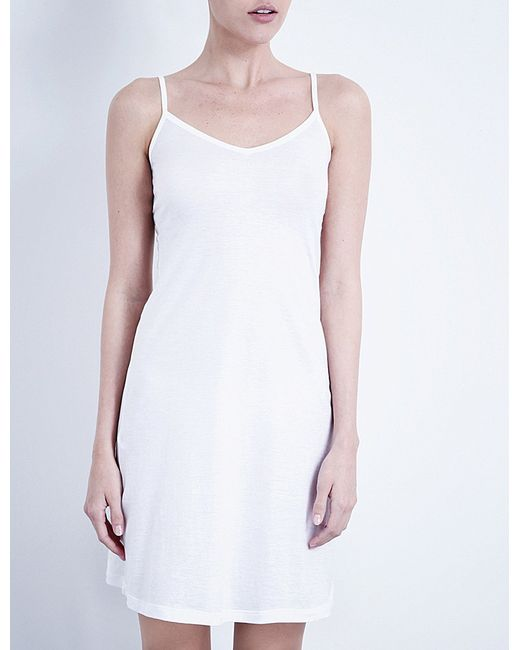 Hanro | White Ultra-light Body Dress | Lyst