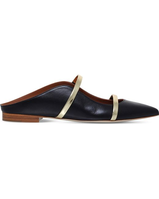 Malone Souliers Maureen flat shoes - Black farfetch Barato Mejor Tienda De Venta Para Conseguir Comprar Compra Barata Salida De Italia 10cDnz