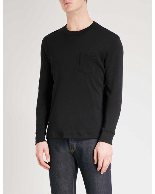 Tom Ford | Black Pocket-detailed Cashmere Top for Men | Lyst