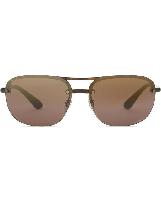 9c258e2e49 Ray-Ban - Multicolor Rb4275ch Chromance® Havana Square-frame Sunglasses for  Men -