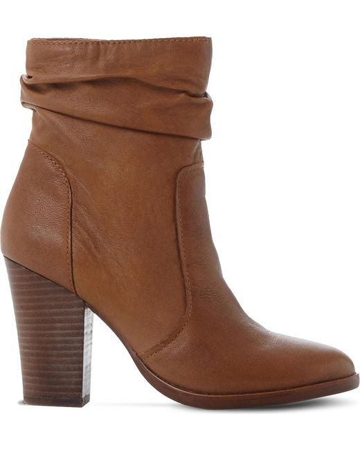 Steve Madden - Black Hunk Slouchy Leather Boots - Lyst