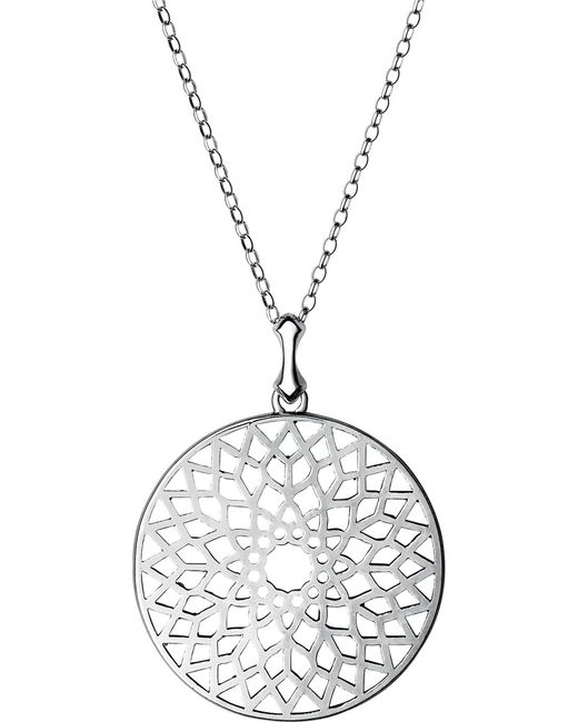 Links of London | Metallic Timeless Cut-out Sterling Silver Necklace | Lyst