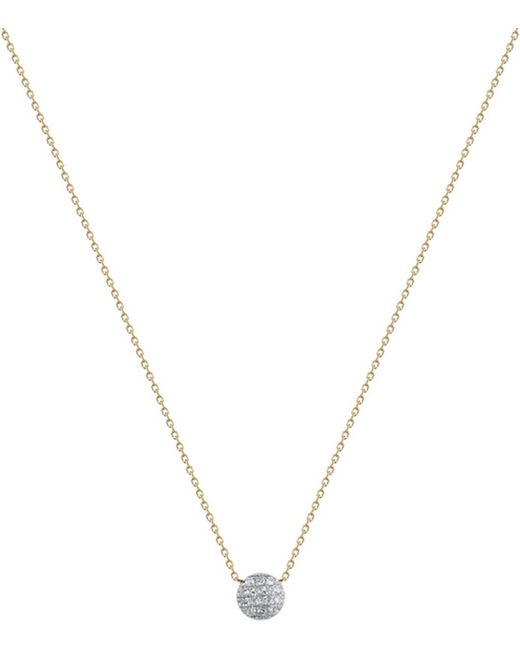 The Alkemistry | Black Lauren Joy Mini 14ct Yellow-gold And Diamond Necklace | Lyst