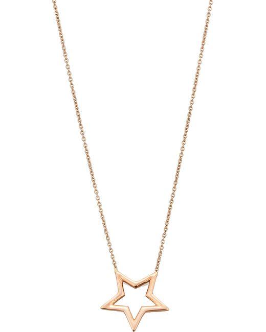 The Alkemistry | Metallic Kismet By Milka 14ct Rose-gold Necklace | Lyst