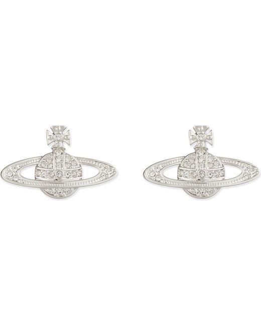 Vivienne Westwood - Metallic Bas Relief Orb Earrings - Lyst