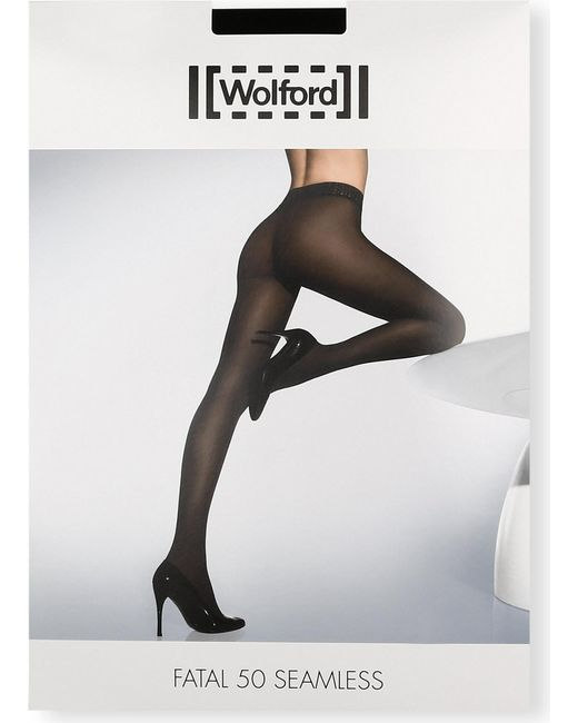 Wolford - Black Maternity Fatal 50 Seamless Tights - Lyst