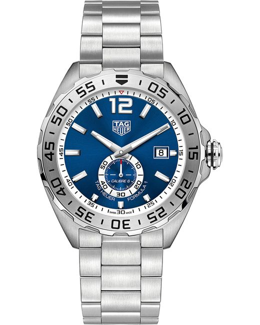 Tag Heuer - Metallic Waz2014.ba0842 Formula 1 Steel And Sapphire-crystal Watch for Men - Lyst