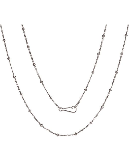 Annoushka | Classic Saturn 18ct White-gold Short Chain | Lyst