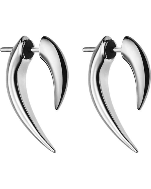 Shaun Leane | Metallic Sterling Silver Talon Earrings | Lyst