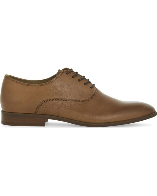 ALDO | Brown Aselan Leather Oxford Shoes for Men | Lyst