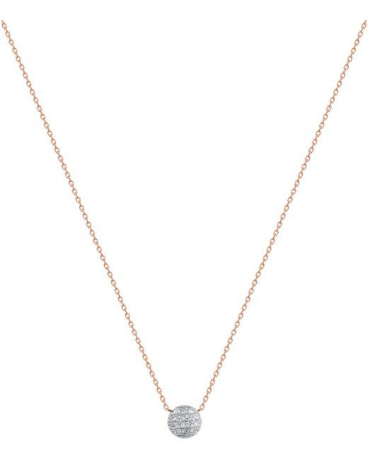 The Alkemistry - Metallic Lauren Joy Mini 14ct Rose-gold And Diamond Necklace - Lyst
