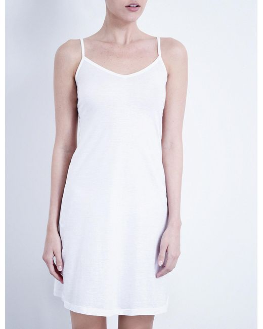 Hanro - White Ultra-light Body Dress - Lyst
