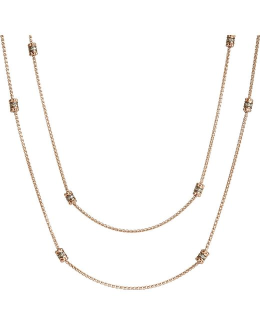 Annoushka | Pink Alchemy 18ct Rose-gold And Diamond Long Chain | Lyst
