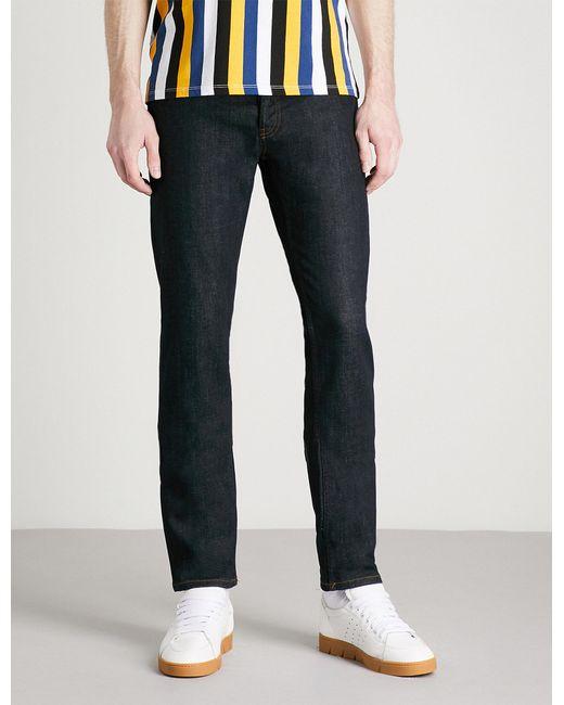Sandro - Blue Tapered Slim Mid-rise Jeans for Men - Lyst