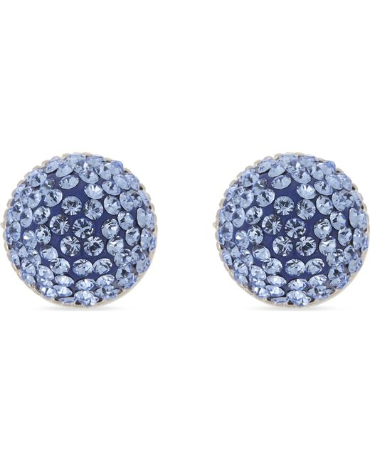 Marc Jacobs | Blue Pavé Stone Cone Stud Earrings | Lyst
