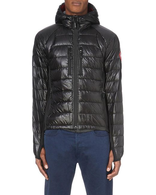Canada Goose Hybridge Lite Quilted Shell Jacket In Black