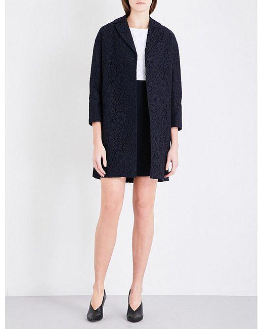 Claudie Pierlot | Black Gaelle Lace Coat | Lyst
