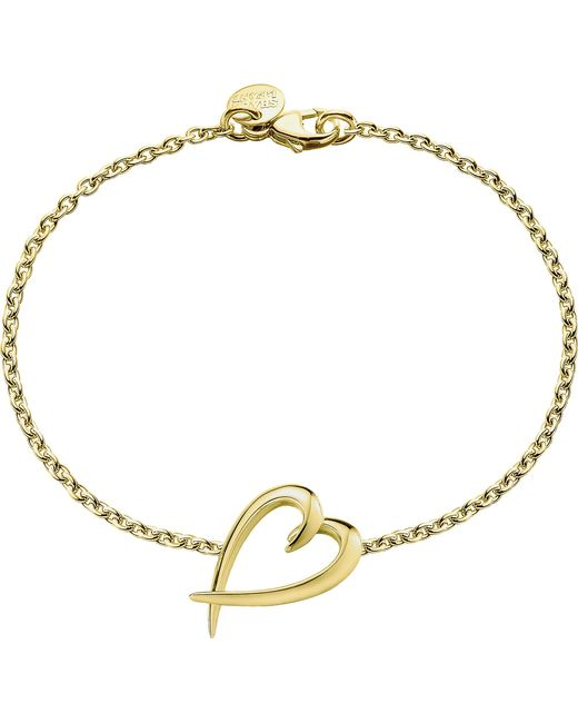 Shaun Leane - Metallic Signature Yellow-gold Vermeil Heart Bracelet - Lyst