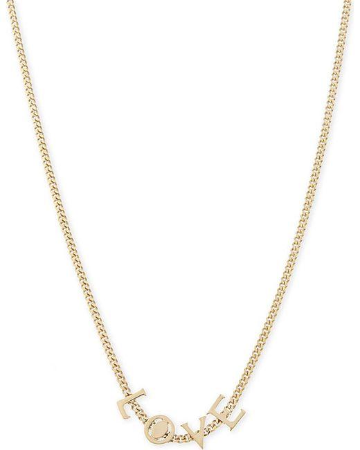 Chloé | Metallic Love Necklace | Lyst