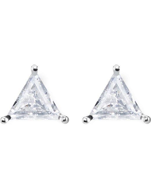 Thomas Sabo - Metallic Glam & Soul Triangle Sterling Silver Ear Studs - Lyst