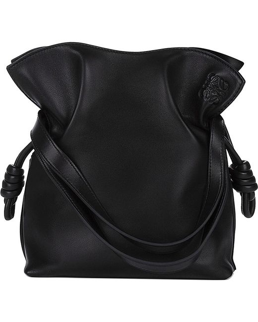 Loewe | Black 'small Flamenco Knot' Shoulder Bag | Lyst