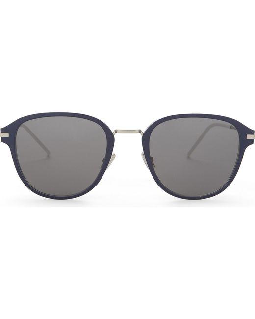 eb91cb9f0e9b Dior Blacktie220s Round-frame Sunglasses in Black - Lyst