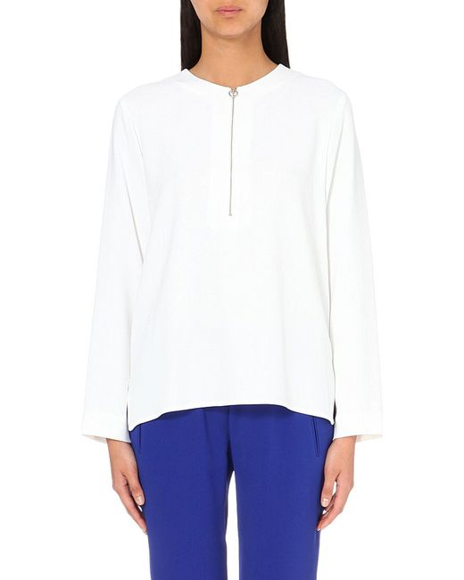 Stella McCartney | Multicolor Arlesa Stretch-crepe Top | Lyst