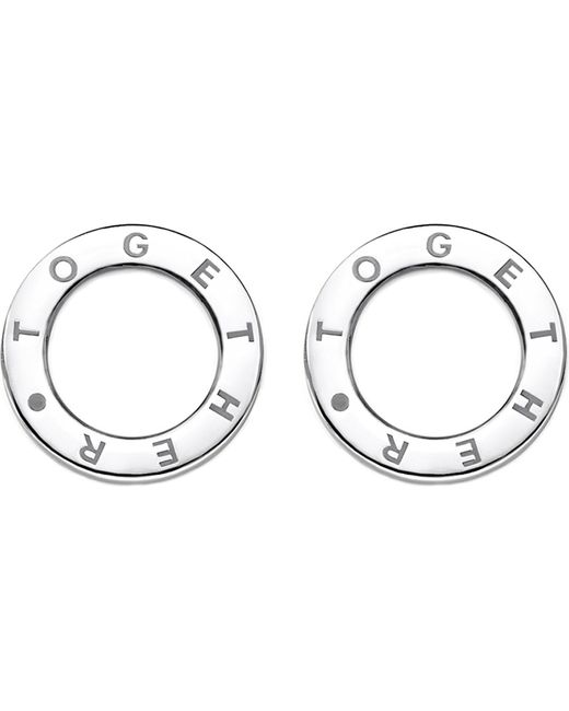 Thomas Sabo | Metallic Together Sterling Silver Earrings | Lyst