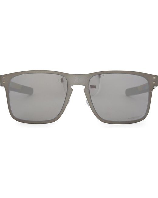 Lyst - Oakley Oo4123 Square-frame Sunglasses in Gray