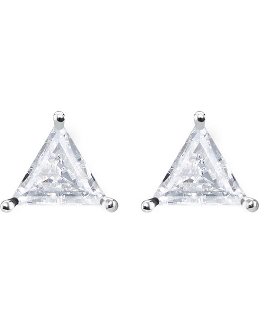 Thomas Sabo - Metallic Glam & Soul Triangle Sterling Silver Ear Studs - Lyst