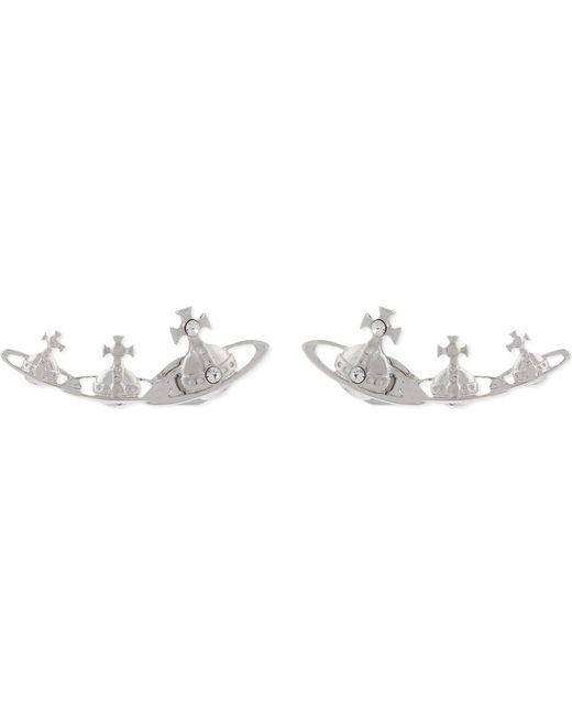 Vivienne Westwood - Metallic Candy Triple Orb Stud Earrings - Lyst