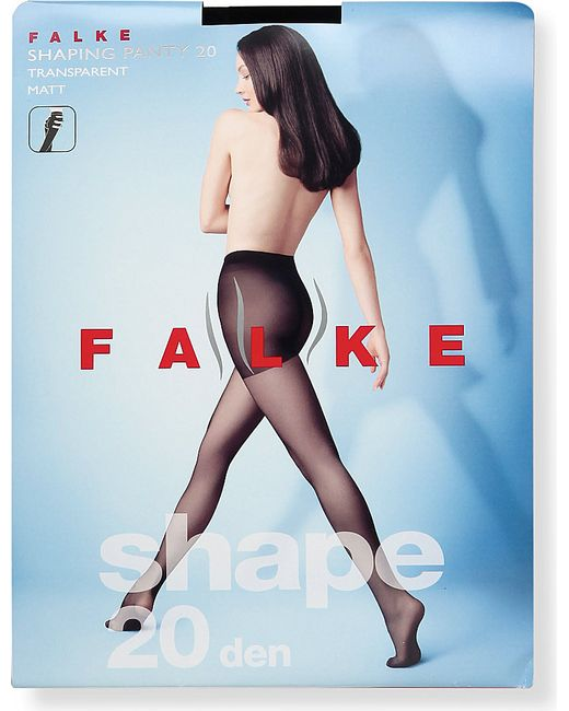 Falke | Black Shaping Panty 20 Denier Tights | Lyst